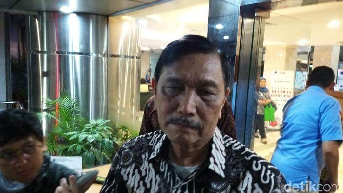 Foto: Achmad Dwi Afriyadi/detikFinance/Luhut ke Uni Eropa soal Ekspor Nikel: Jangan Dikte Indonesia!