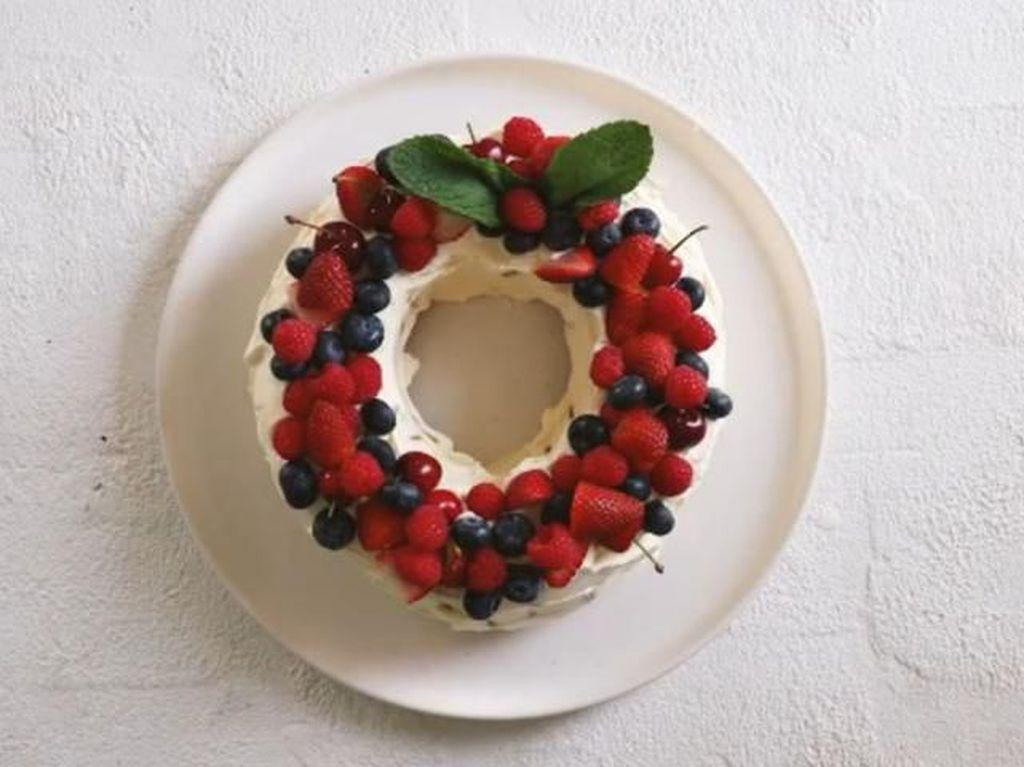 Hanya dengan Cookies dan Krim, Blogger Ini Mampu Bikin Kue Natal Mewah