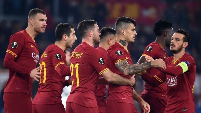 AS Roma bermain imbang dengan Wolfsberger AC untuk lolos ke babak selanjutnya Liga Europa (Foto: Photo by Filippo MONTEFORTE / AFP)