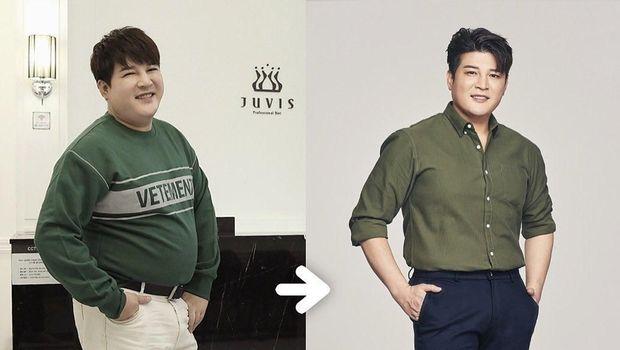 Berat badan Shindong Super Junior turun drastis