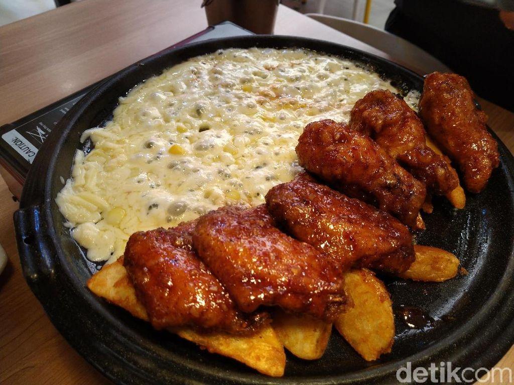 Kims K-Food : Gurih Mulur Cheese Rolling Chiken Khas Korea