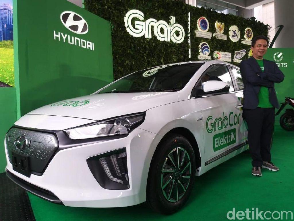 Bedanya Grab Mobil Listrik di Singapura dan Indonesia