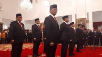 Jokowi Lantik Wiranto hingga Habib Luthfi Jadi Dewan Pertimbangan Presiden