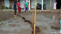 Ini Penyebab Terjadinya Fenomena Tanah Retak di Ponorogo