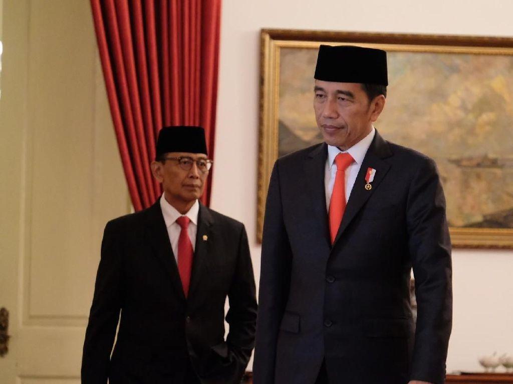 Alasan Jokowi Pilih Wiranto Jadi Ketua Dewan Pertimbangan Presiden