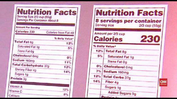 Thumbnail video cara mengurangi kalori