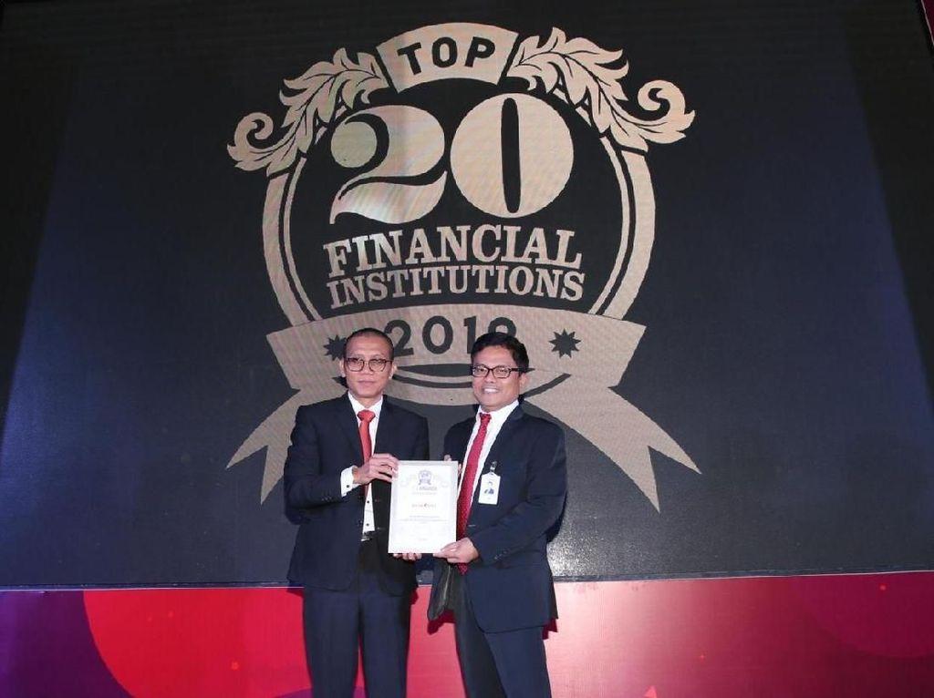 Bank DKI Raih Penghargaan 20 Bank Berkinerja Terbaik di Indonesia