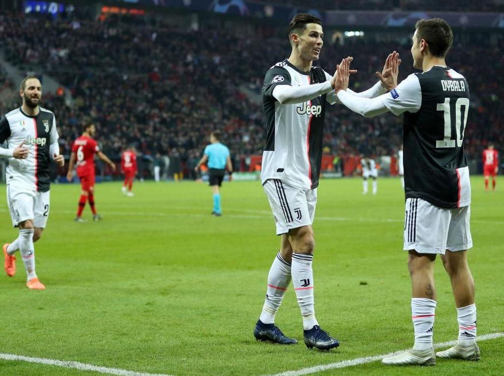 Trisula Ronaldo-Dybala-Higuain Bisa Jadi Beban untuk Juventus