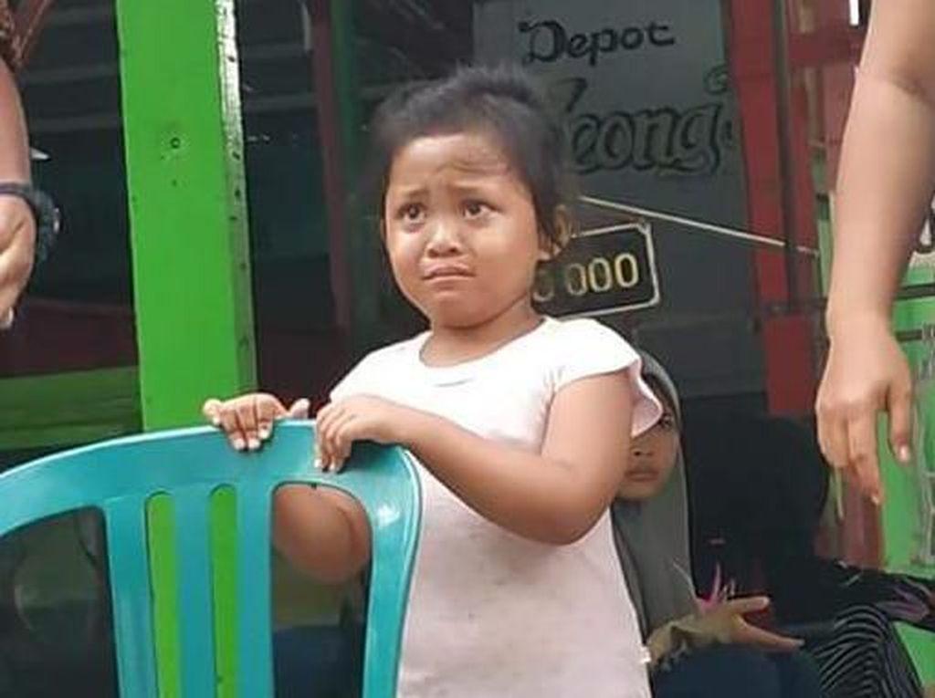 Bocah Perempuan yang Hilang Ditemukan Terlantar di Kenjeran Surabaya