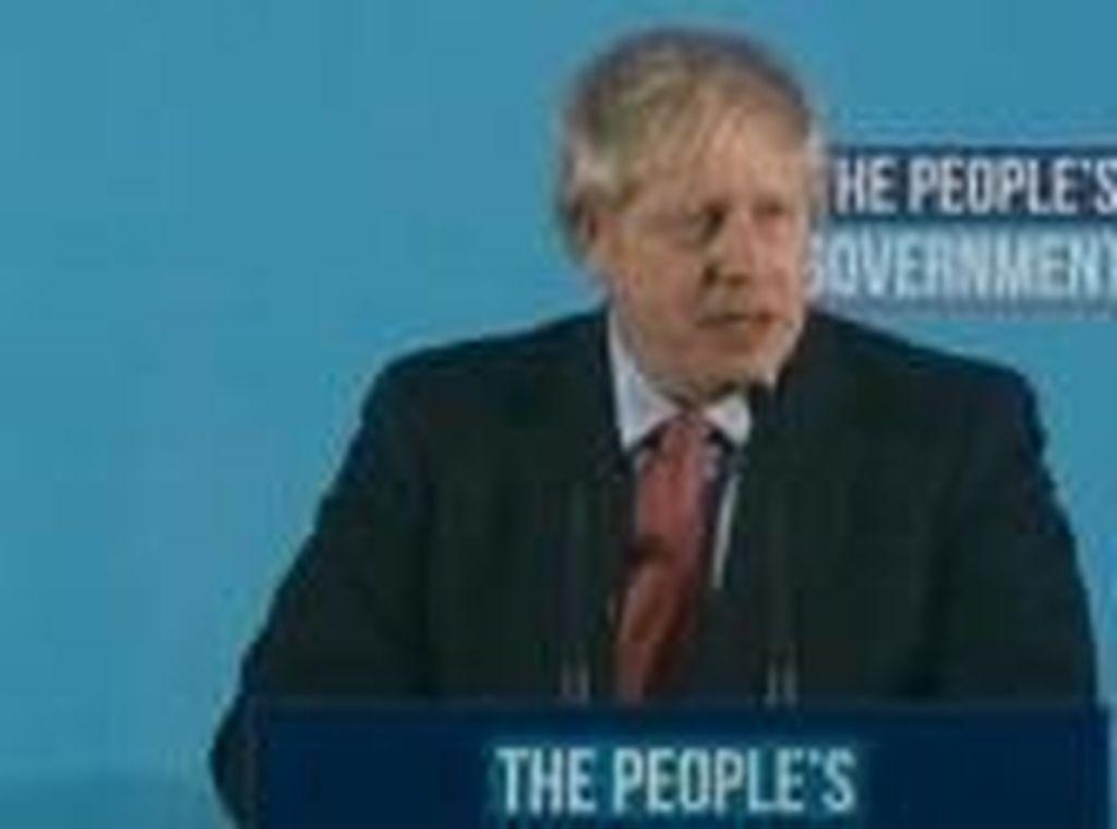 Kembali Jadi Perdana Menteri Inggris, Boris Johnson Janji Teruskan Brexit