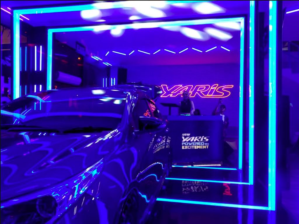 Hadir di DWP 2019, Toyota Yaris Pamer Diskotik dalam Mobil