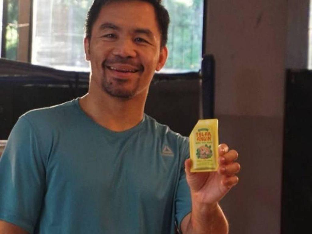 Manny Pacquiao Kembali Bintangi Tolak Angin untuk Market Filipina