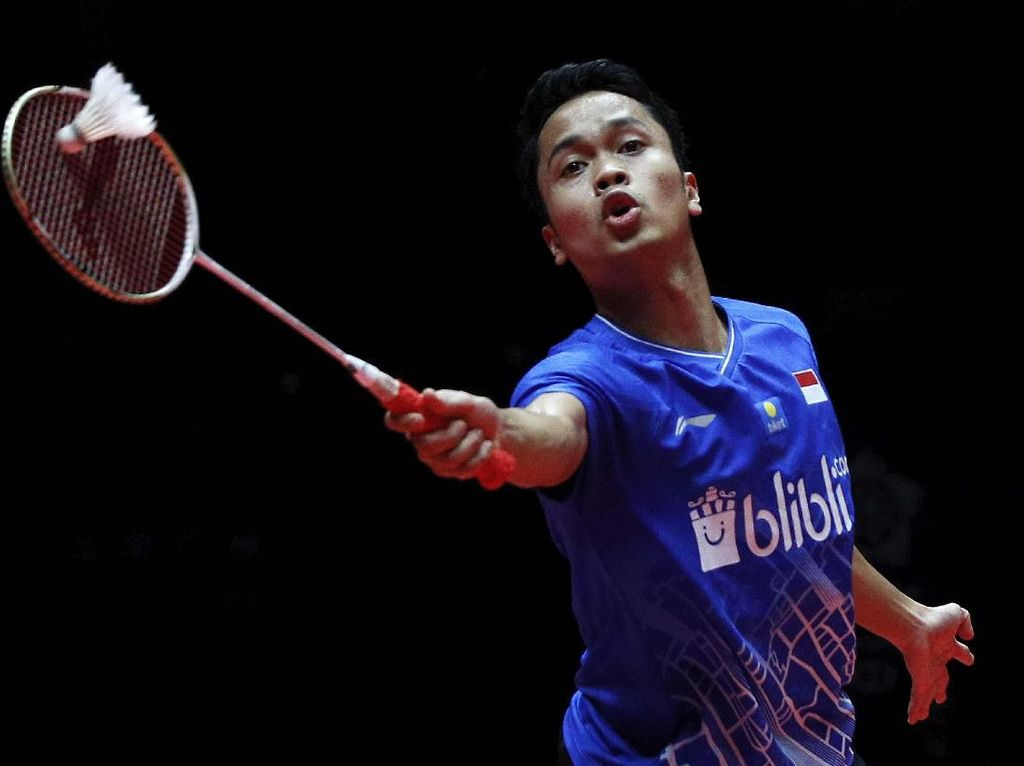 Gagal di BWF World Tour Finals 2019, Anthony Ginting Tetap Bersyukur