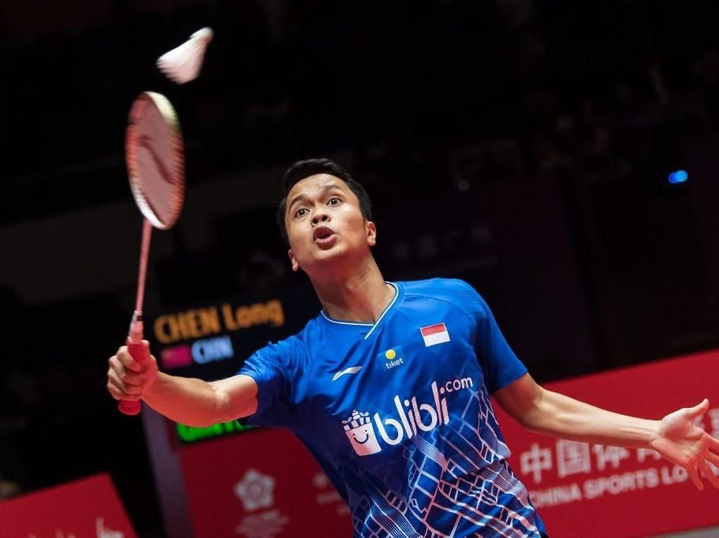 Anthony Ginting dan Gregoria Tersingkir di Babak 32 Besar Malaysia Masters