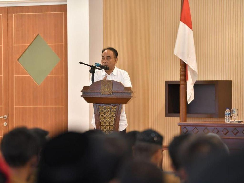 Kemendes Resmikan Sri Tanjung Jadi Desa Rukun Antar Umat Beragama