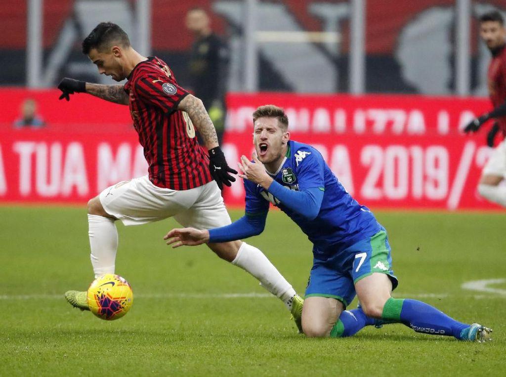 AC Milan Diredam Sassuolo Tanpa Gol di San Siro