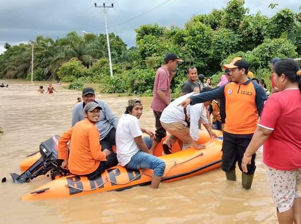 Jambi Dilanda Banjir, 200 Warga Mengungsi