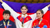 Terpana si Cantik dari Arena Taekwondo di SEA Games 2019