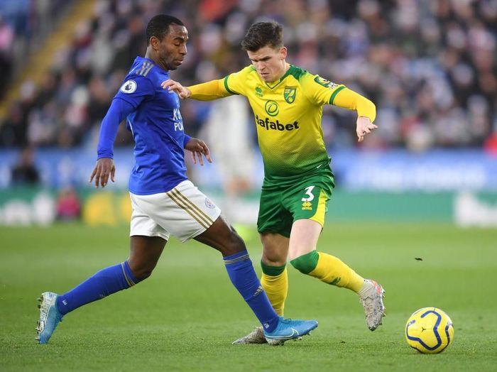 Leicester gagal menaklukkan Norwich. Foto: Michael Regan/Getty Images