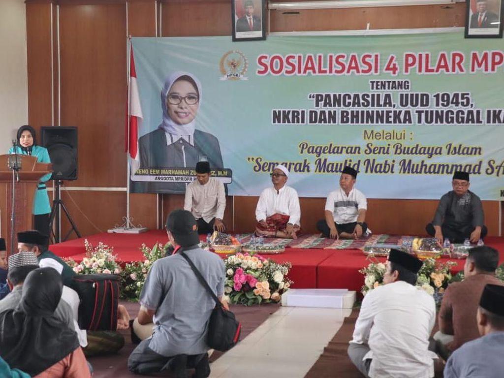 MPR Sosialisasikan Empat Pilar Lewat Seni Budaya di Kota Hujan