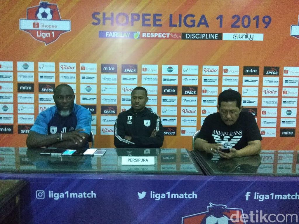 Persipura Jayapura Targetkan Sapu Bersih Dua Laga Sisa di Liga 1