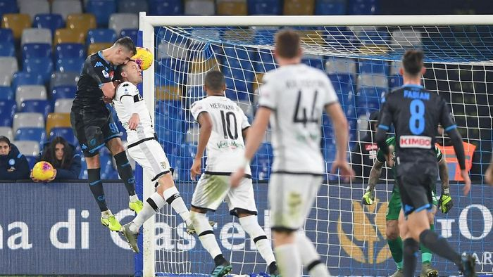 Napoli dikalahkan Parma 1-2 di laga pertama Gennaro Gattuso sebagai pengganti Carlo Ancelotti. (Foto: Francesco Pecoraro / Getty Images)