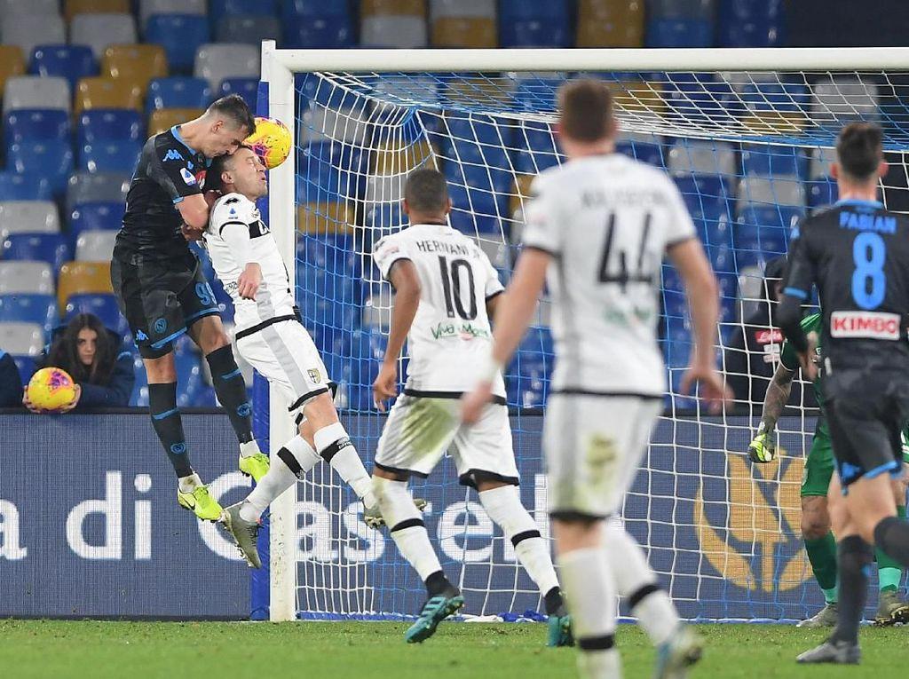 Hasil Liga Italia: Napoli Kalah di Laga Debut Gattuso