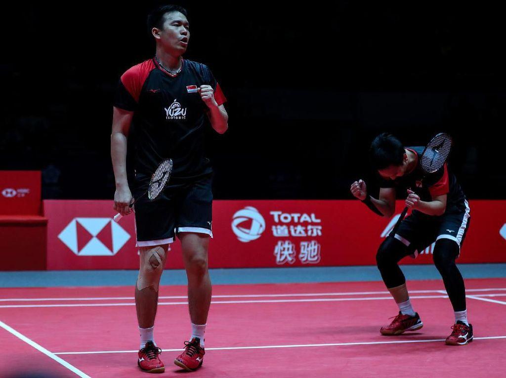 Main Tiga Gim, Hendra/Ahsan Tembus Semifinal Malaysia Masters