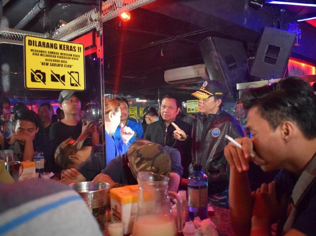 BNN Tes Urine Pengunjung Diskotek di Jakbar, 4 Orang Positif Narkoba