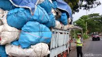 Kelebihan Muatan, Puluhan Truk di Malang Terjaring Razia