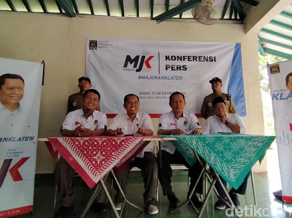 Ketua DPD PKS Klaten Maju Jadi Balon Bupati