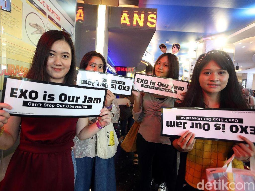 Miracle! TSM Cibubur Makin Padat Jelang EXO Tampil di HUT Transmedia