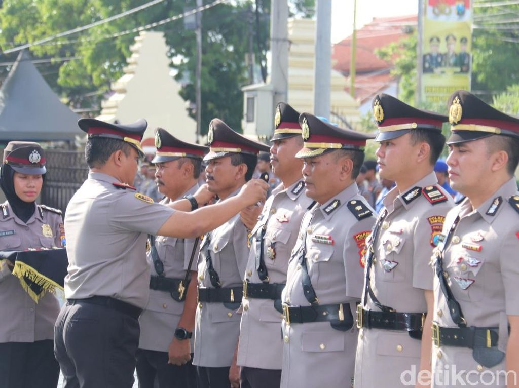 Polresta Banyuwangi Mulai Isi Posisi Kepala Satuan