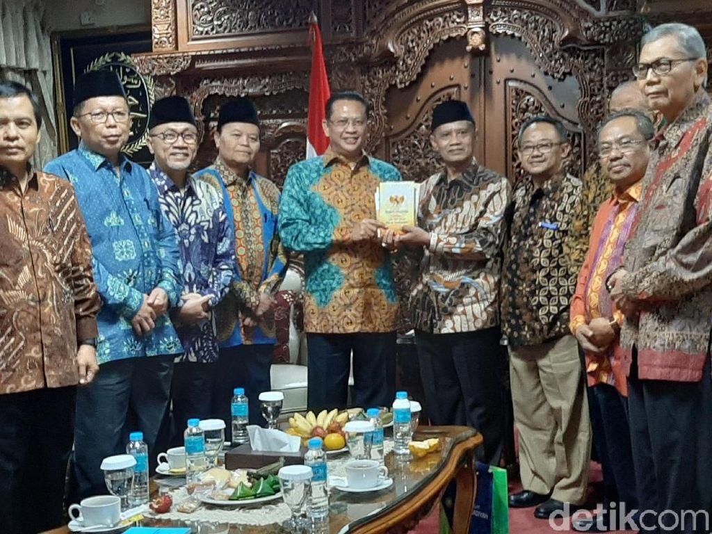 Pimpinan MPR Temui PP Muhammadiyah, Bahas Amandemen UUD 1945 Terbatas
