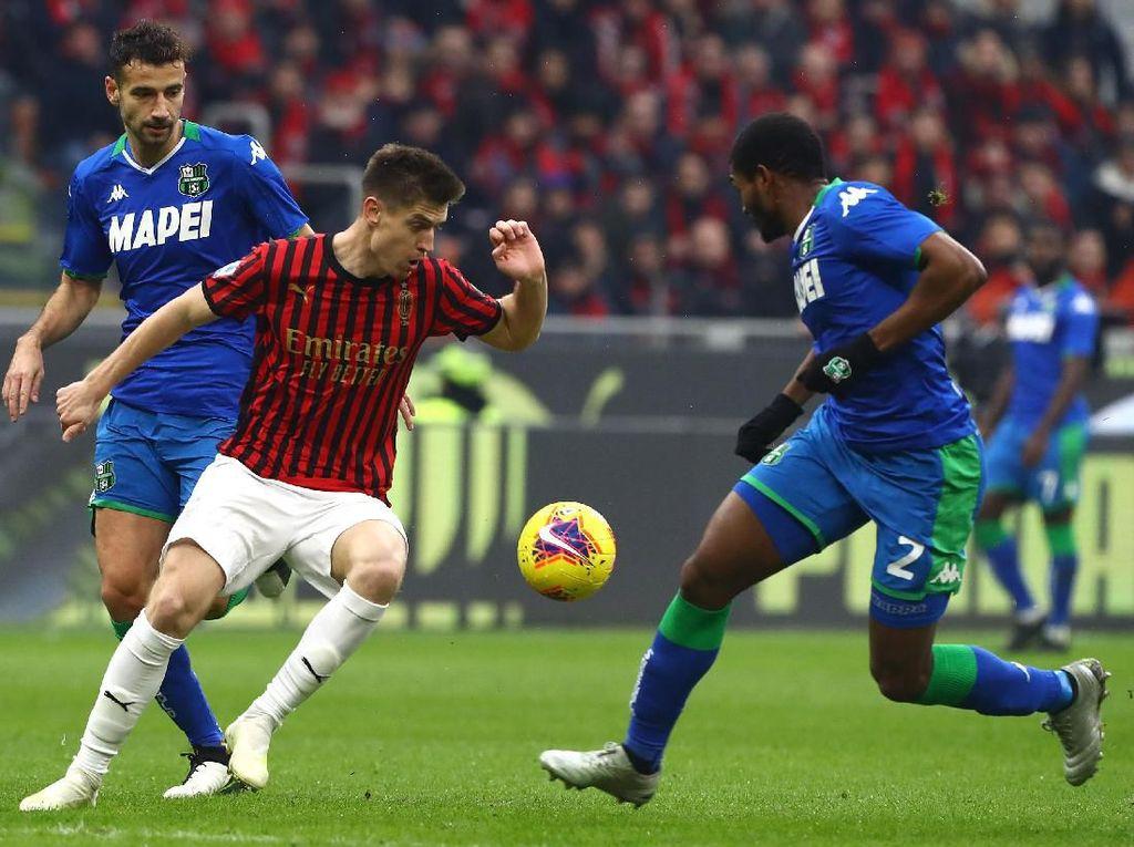 Milan: 23 Tembakan, 0 Gol