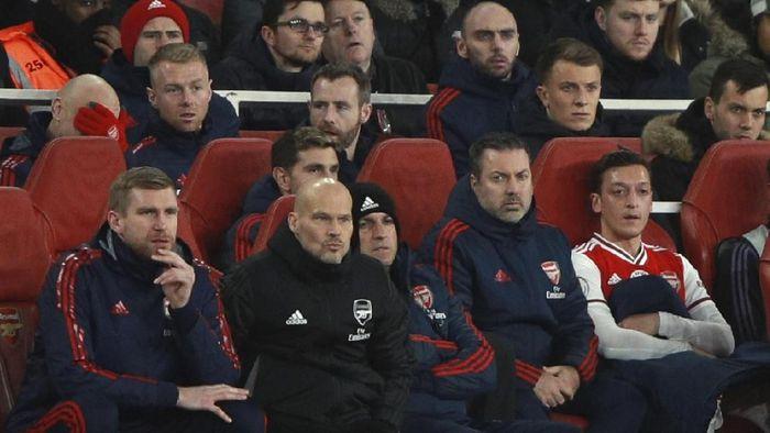 Freddie Ljungberg masih jadi caretaker di lima laga terakhir Arsenal (Ian Walton/AP Photo)