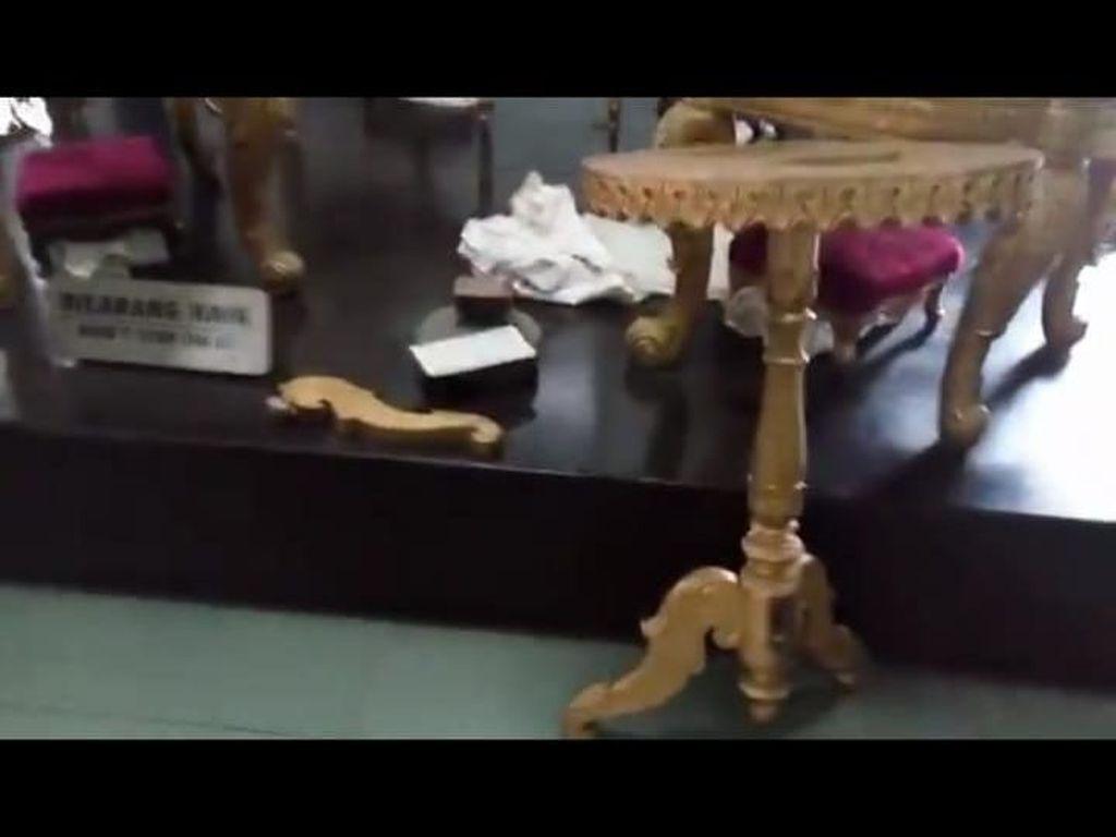Geram Putri Sultan Kala Koleksi Museum Keraton Dirusak Pemburu Selfie