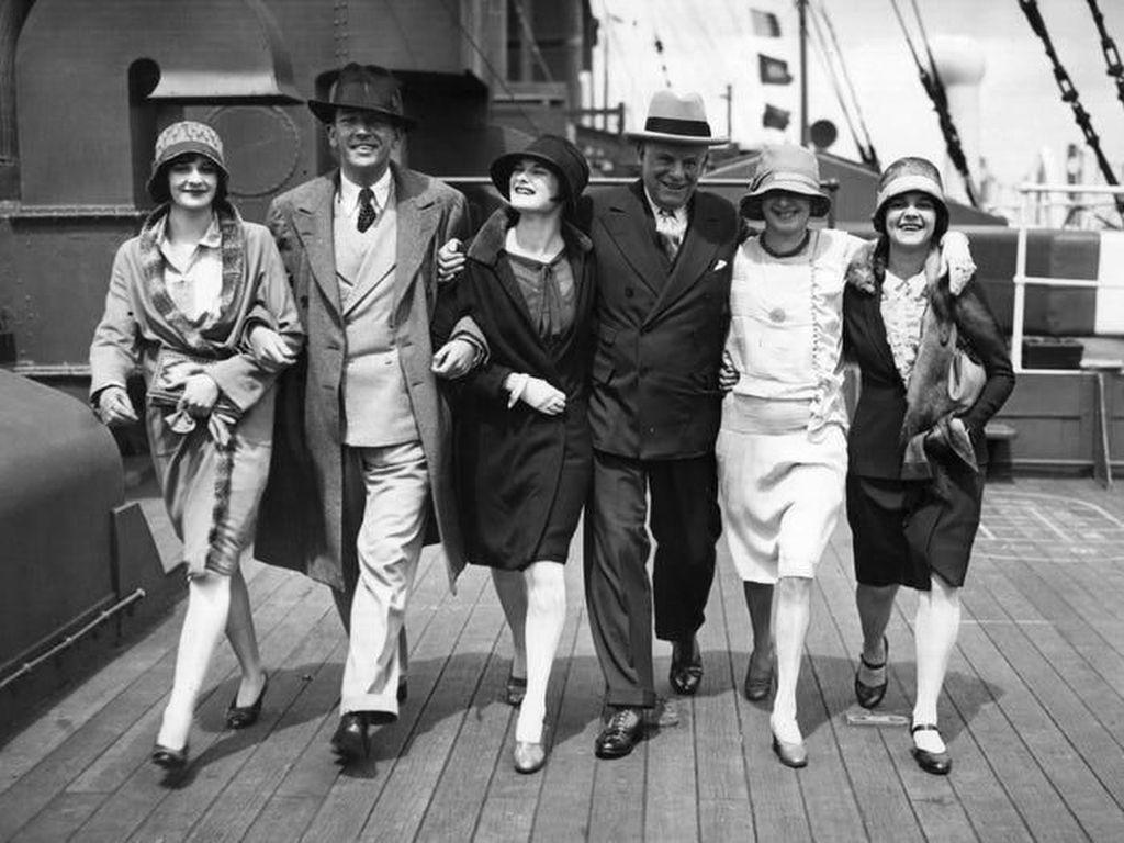Foto: Gaya Orang Traveling 100 Tahun Lalu
