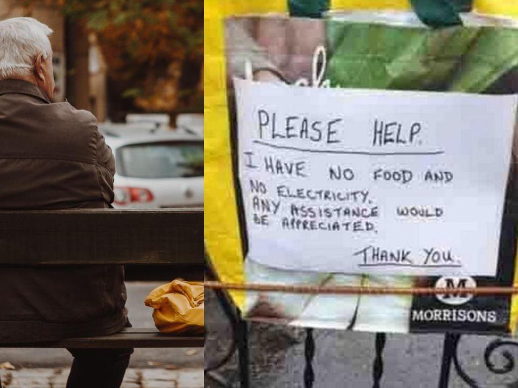 Tak Makan 4 Hari dan Kelaparan, Kakek Ini Tulis Pesan Menyentuh di Pagar Rumahnya