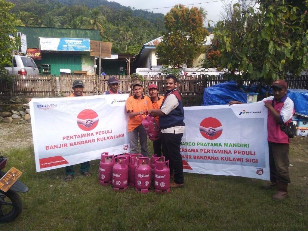 Pertamina Salurkan Bantuan untuk Korban Banjir Bandang Sigi