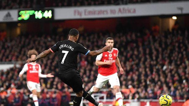 De Bruyne Cemerlang, City Hantam Arsenal 3-0