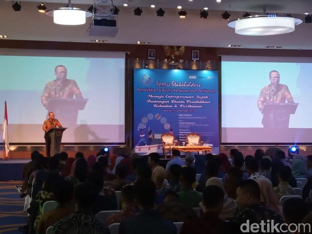 Di Depan Pengusaha, Edhy Prabowo Janji Permudah Izin dan Modal Usaha