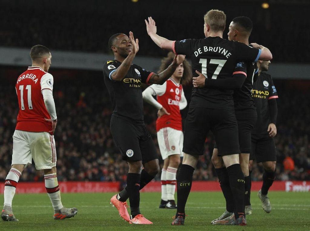 2 Gol dan 1 Assist De Bruyne Bikin Arsenal Terpuruk