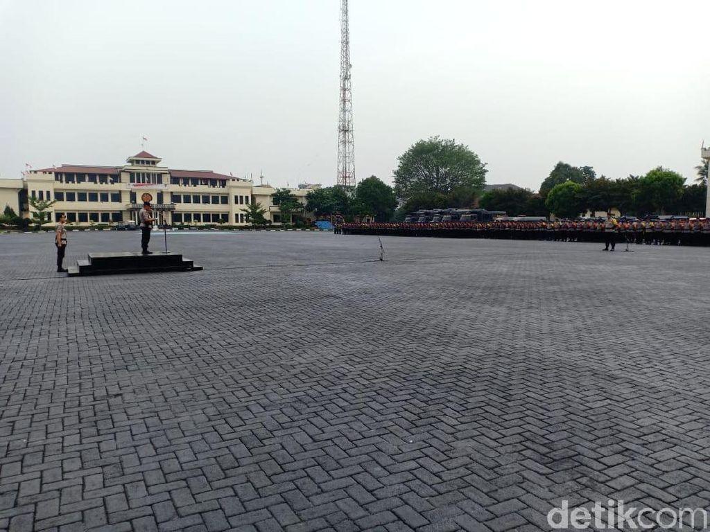 Polri Gelar Apel Aman Nusa II, Siap Terjunkan Personel Saat Bencana