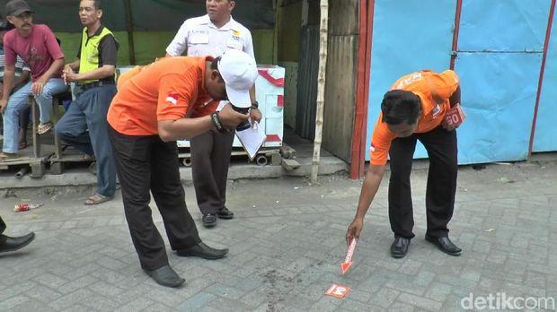 Lokasi penusukan warga di Pasuruan/