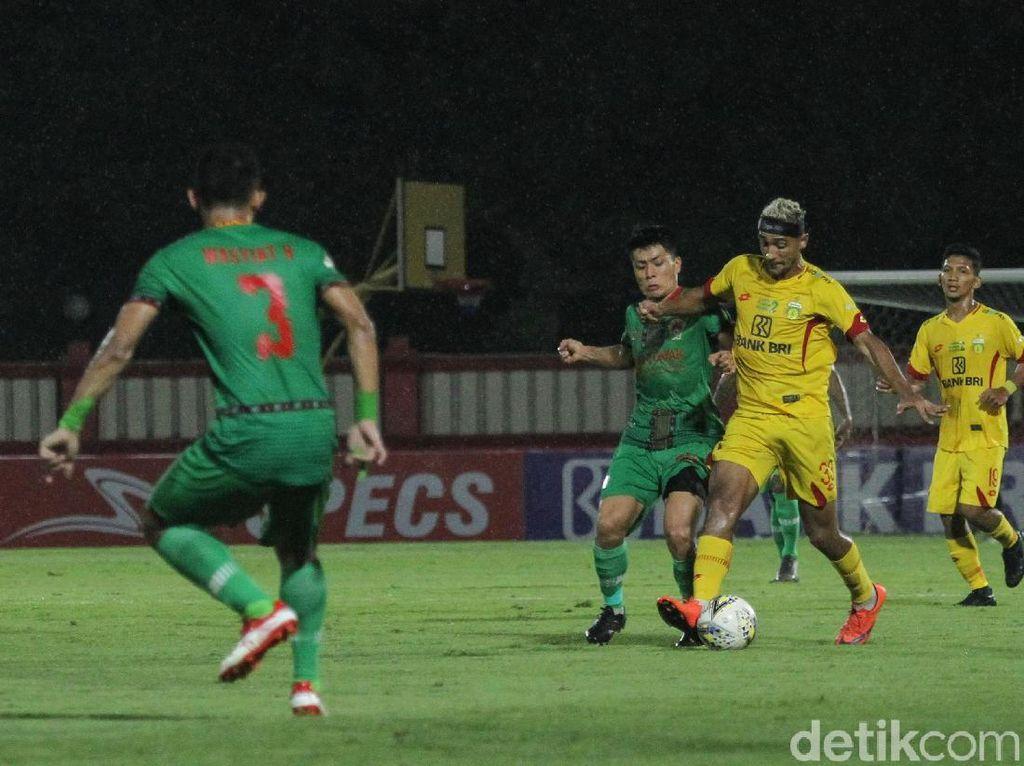 Bhayangkara FC Vs Kalteng Putra: Bruno Matos Menangkan The Guardian