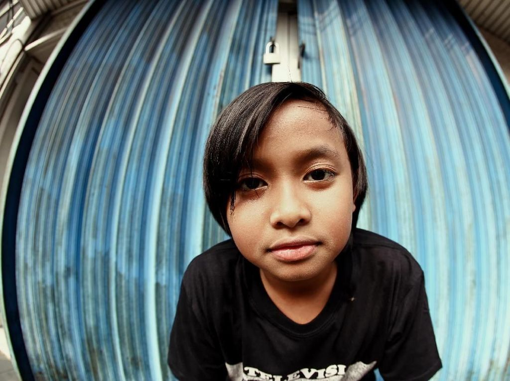 Angan, Anak Cholil ERK yang Curi Perhatian Lewat Musik Hip Hop