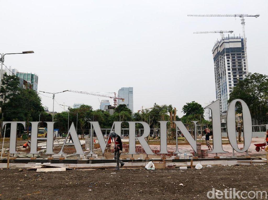 Pembangunan Ruang Usaha UMKM Thamrin Terus Dikebut