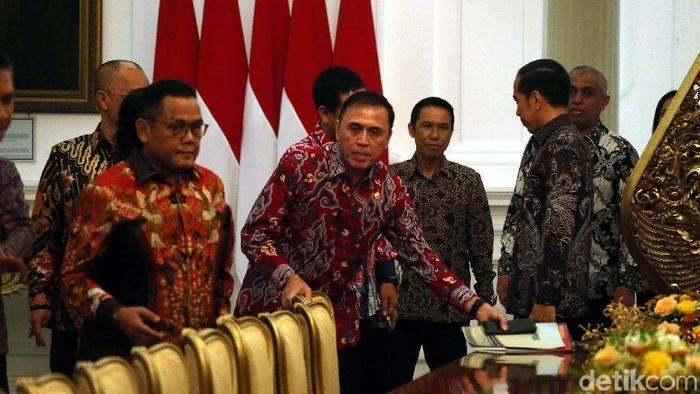 Ketum PSSI, Mochamad Iriawan, berjanji tunjuk pelatih Timnas Indonesia sebelum Kongres Tahunan. (Foto: Rengga Sancaya/detikcom)