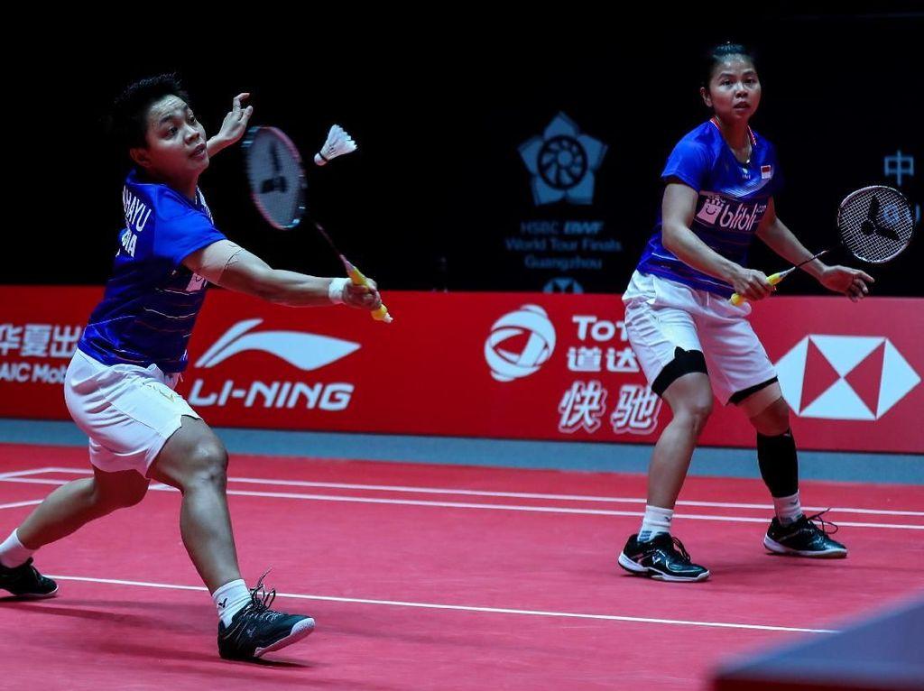 Kalah Fisik, Greysia/Apriyani pun Jeblok di BWF World Tour Finals